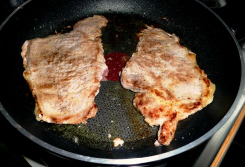 Карбонат на сковороде рецепт с фото