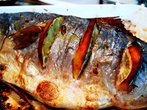 как приготовить тунца вкусно в духовке фото