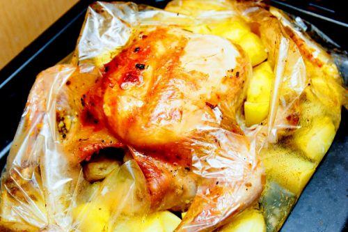 цыпленок табака рецепт в рукаве в духовке