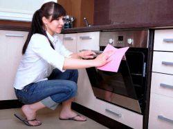 Как чистить духовку в домашних условиях