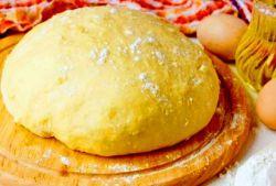 Сдобное дрожжевое тесто для пирогов в духовке