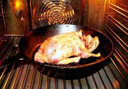 Как приготовить дикую утку в духовке