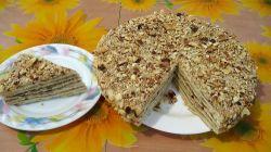 Как приготовить торт наполеон на сковороде