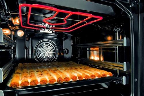 Шкаф с функцией гриля вам быстро подрумянит блинчики и пирожки