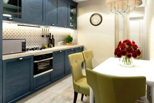 Любая очаровательная кухня должна иметь встроенных духовой шкаф