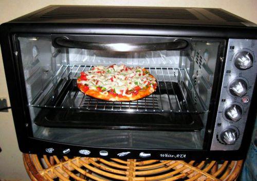 Недорогая настольная электрическая духовка или мини печь с необходимыми функциями
