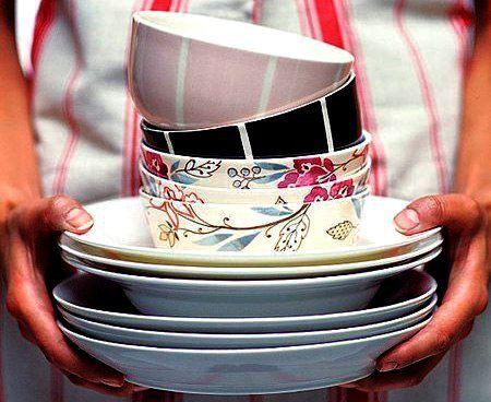 Подготовьте сухо-насухо посуду