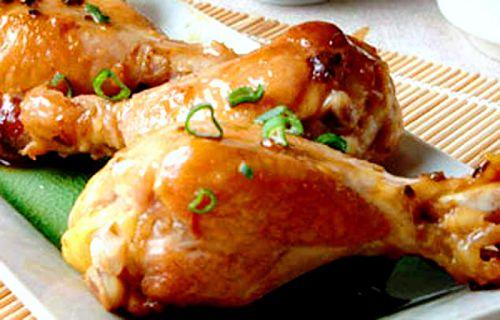 Как приготовить голень курицы в духовке