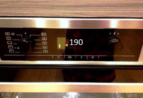 Разогрейте духовку до 190 градусов