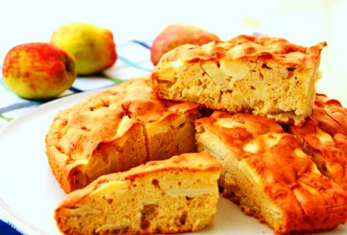 Шарлотка с яблоками рецепт с фото классический рецепт