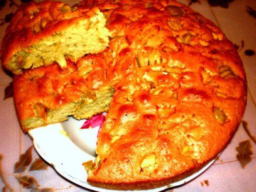 Как сделать шарлотку с яблоками в духовке фото 594
