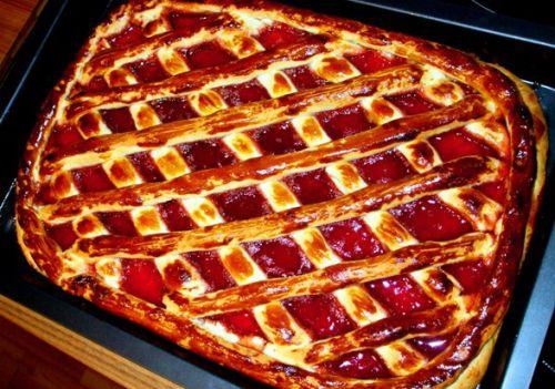 рецепт сладкого дрожжевого теста на пироги в духовке