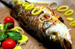 Рецепт сибас в духовке в фольге с фото