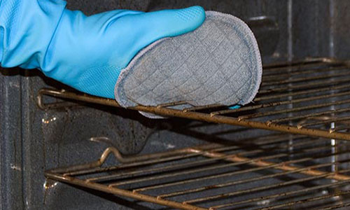 Как почистить решетку от газовой плиты