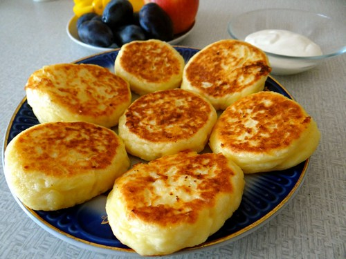 Рецепты сырников с творогом на сковороде