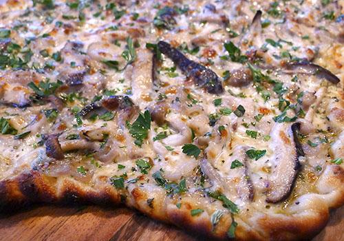 Моментальная пицца с грибами