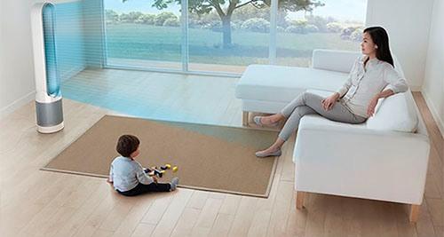 Чистый воздух в квартире полезен детям и взрослым